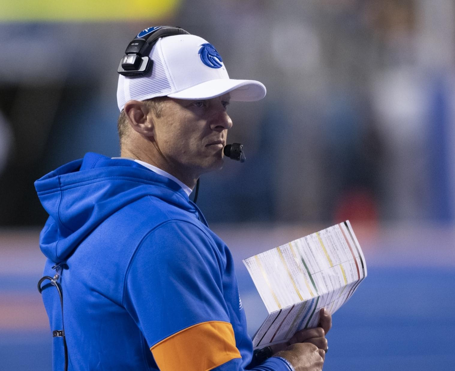 EXCLUSIVE INTERVIEW WITH BOISE STATE FOOTBALL COACH BRYAN HARSIN