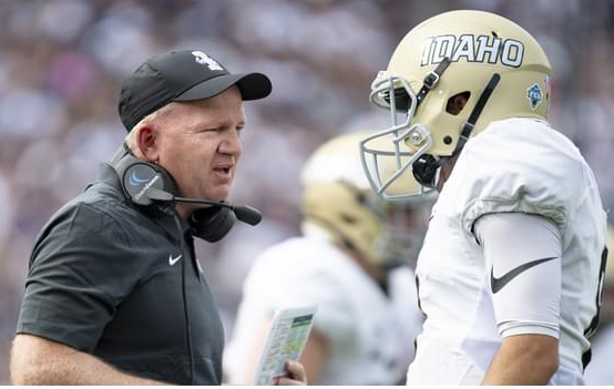 VANDALS' FOOTBALL: COACH PETRINO ON HIS QB SHUFFLE, SPRING SEASON EXPERIMENT