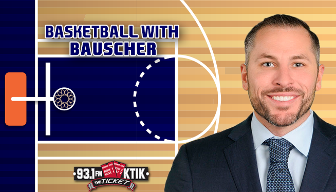 BASKETBALL WITH BAUSCHER: RAYJ DENNIS LEAVES, TRANSFER PORTAL, HUTCHISON & THE FINAL FOUR