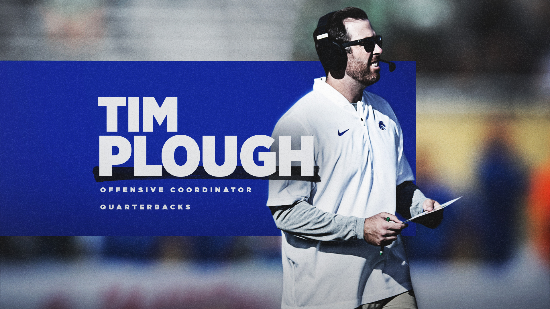 BOISE STATE FOOTBALL: OFFENSIVE COORDINATOR TIM PLOUGH ON QBS AND THEIR SUMMER EXPECTATIONS