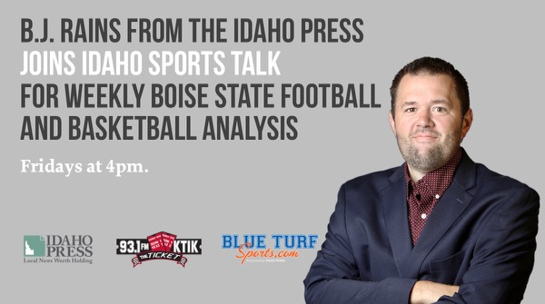BLUE TURF SPORTS REPORT WITH B.J. RAINS