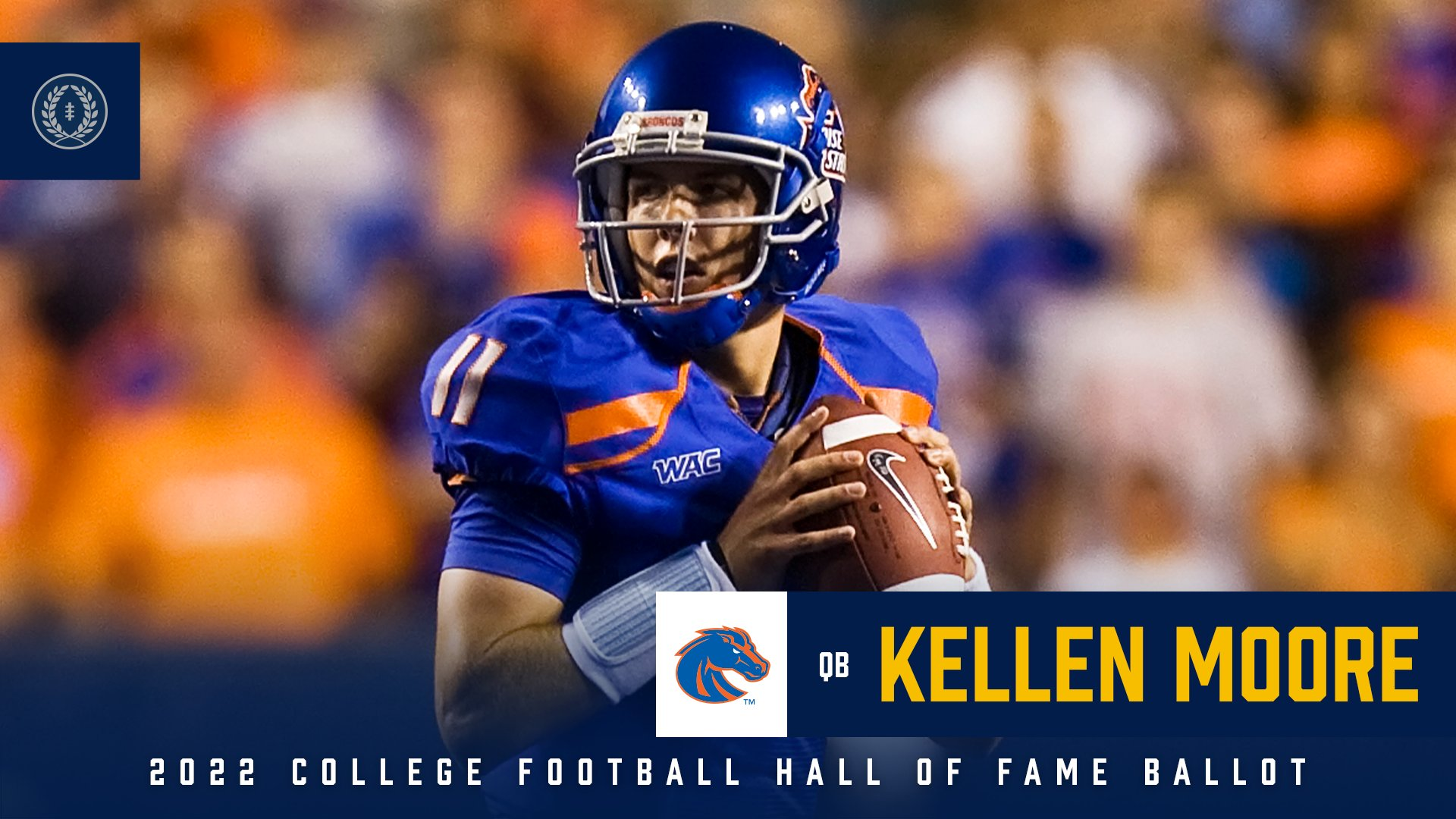 BOISE STATE: COLLEGE FB HALL OF FAME SPECIALIST ON WHAT'S NEXT FOR KELLEN MOORE