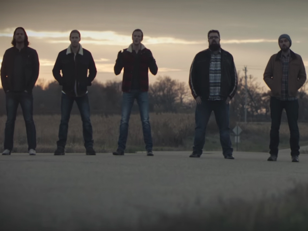 """Cold Frontin': Watch Home Free Cover Zac Brown Band's """"Colder Weather"""" in New Video"""