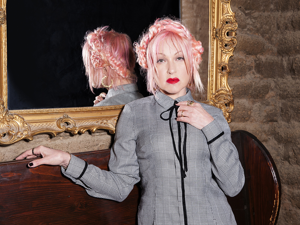 "Listen to Cyndi Lauper and Alison Krauss Duet on ""Hard Candy Christmas"""