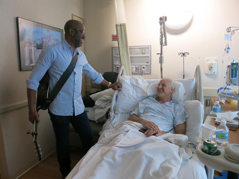 Darius Rucker Makes Musical Memories Visiting Patients at Lenox Hill Hospital in New York