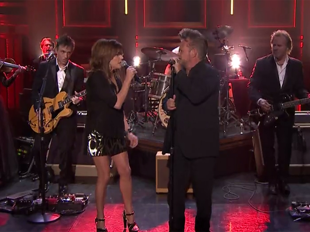 """Martina McBride Appears on """"Jimmy Fallon""""—Makes It Home in Time to Watch the Show"""