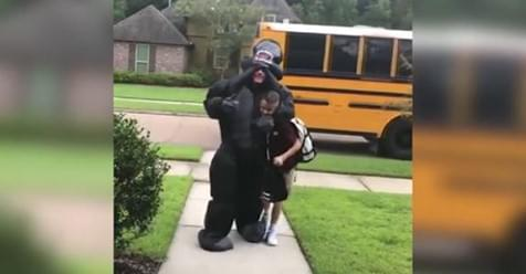 This Louisiana Kid Helped His Brother Beat The Back To School Blues In The Most Adorable Way!