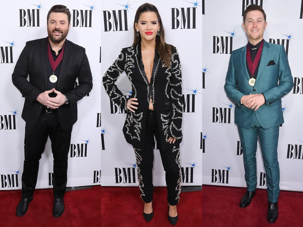 BMI Awards With Maren Morris, Luke Combs, Dwight Yoakam, Chris Young, Thomas Rhett, Scotty McCreery & More [Photo Gallery]