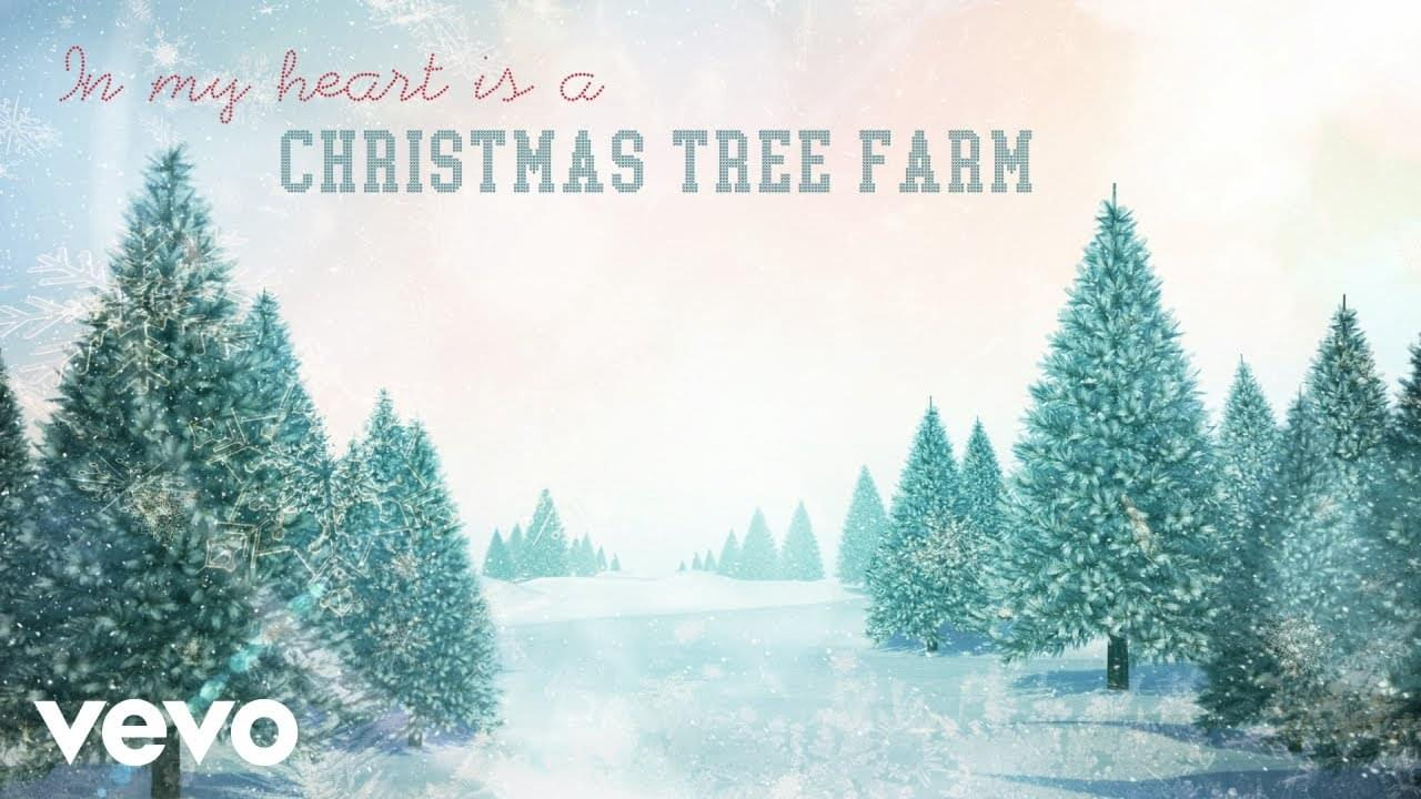 "WATCH: Taylor Swift ""Christmas Tree Farm"""