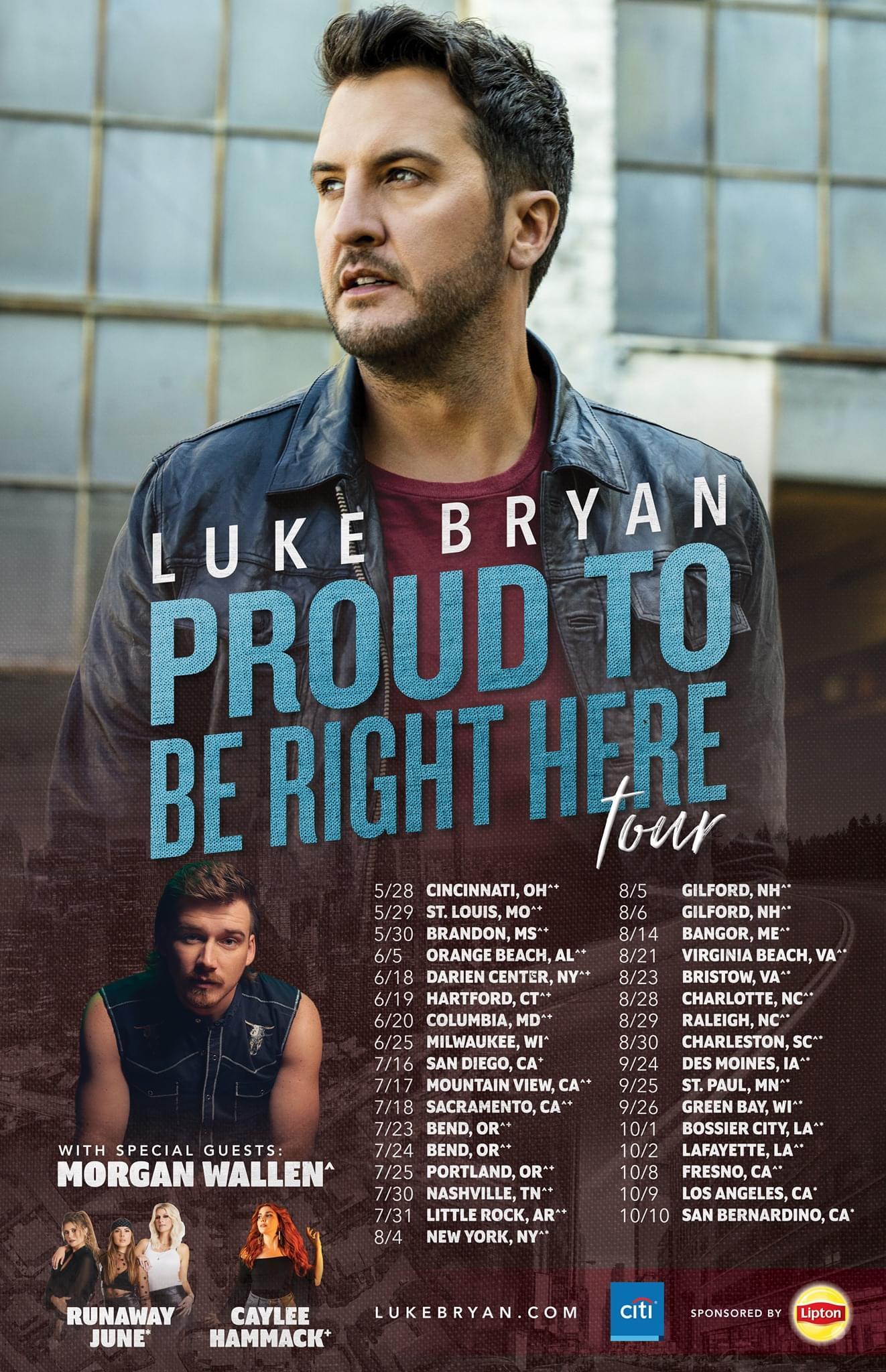 Luke Bryan is Coming to Shreveport!!