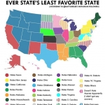 Which state do you hate?