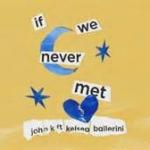 "LISTEN: John K and Kelsea Ballerini ""If We Never Met"""