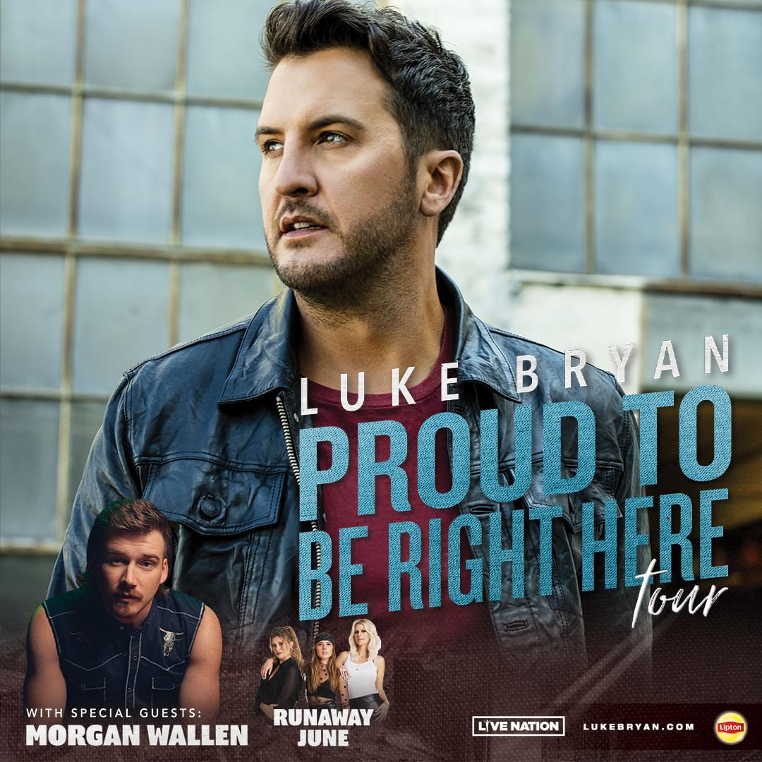 Win Luke Bryan Tickets All Week When You Play Luke Bryan Ticket Tag!