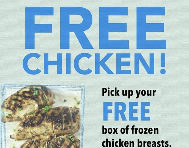 Winner Winner FREE Chicken Dinner!