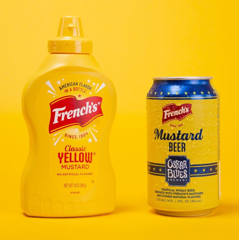 Mustard BEER, On Sale 1 Day Only