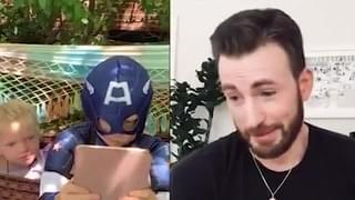 WATCH: Chris Evans Praises Boy Who Saved His Sister From A Dog!