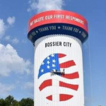 Bossier City has the Best Water Tower in the USA