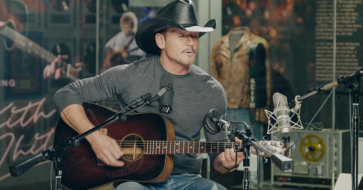 "Watch Tim McGraw Perform ""Don't Close Your Eyes"" With Keith Whitley's Guitar at Country Music Hall of Fame"