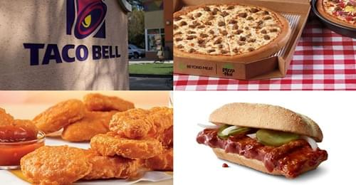 The Top Fast Food Items That Came And Went in 2020