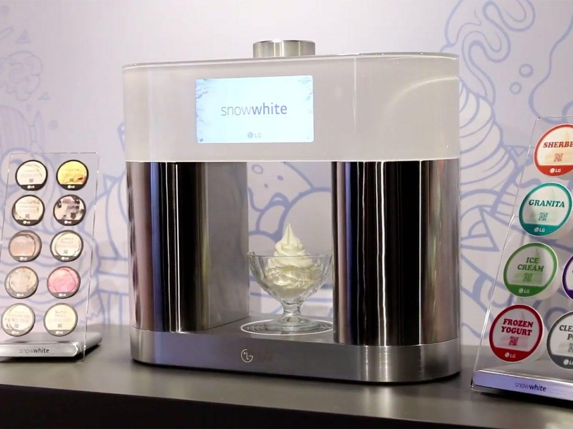 This Keurig-like machine for soft serve ice cream is what the world really needs