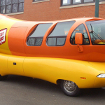 Looking for a new job?  How about being a driver for the Oscar Mayer Wienermobile?!