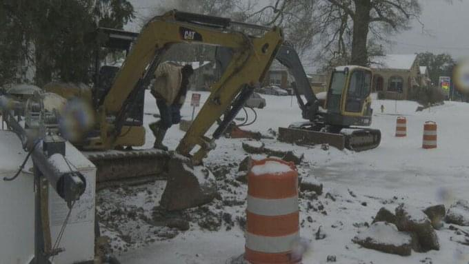 Crews Are Working Hard To Fix Water System Failures Throughout The Area