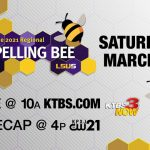 The 2021 Regional Spelling Bee Airs Saturday Morning on KTBS-3!