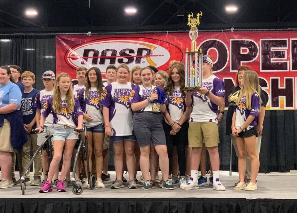 Local school wins World Championship!