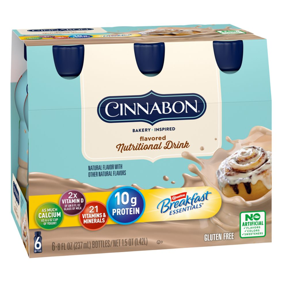 Cinnabon Protein Drinks(?) Will Hit Stores This Month
