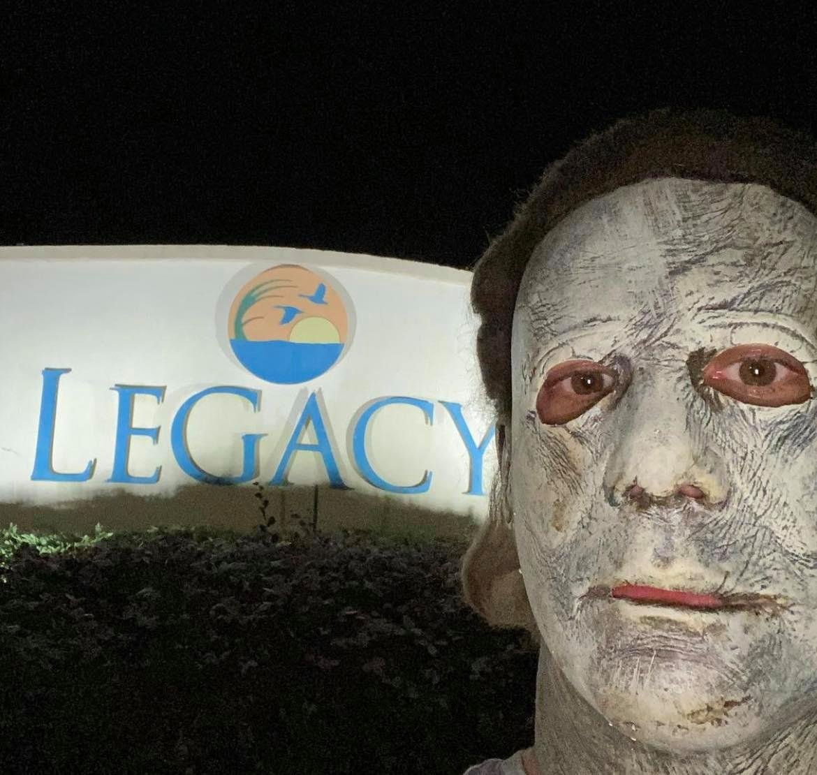 Michael Myers has been spotted all over Bossier City!