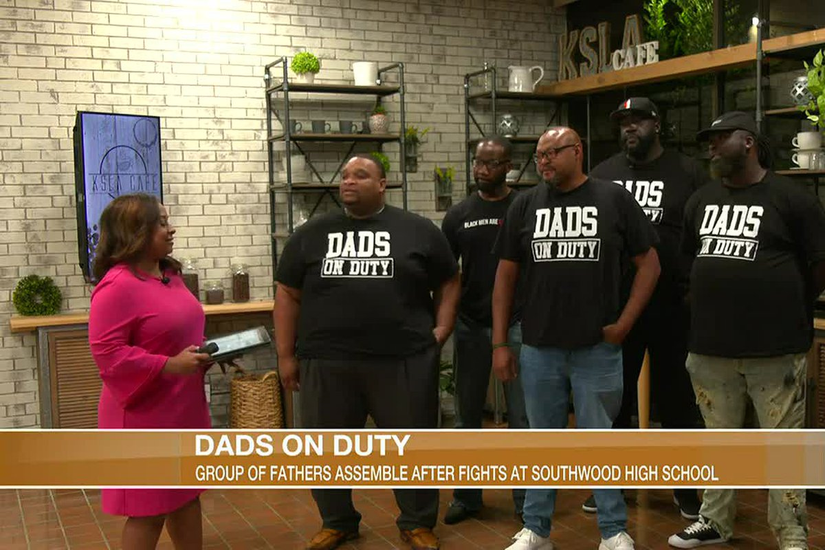 Dads On Duty Formed After Fights At High Schools in Shreveport