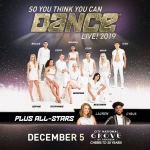 So You Think You Can Dance Live 2019! @ City National Grove – December 5th