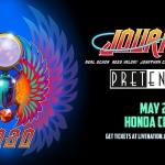 Journey with Pretenders at Honda Center May 26