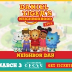 Daniel Tiger's Neighborhood Live @ The Grove – March 3, 2020