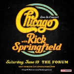 Chicago With Rick Springfield at The Forum