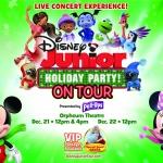 Disney Junior Holiday Party @ The Orpheum Theatre – December 21 & 22, 2019