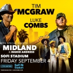 Tim McGraw & Luke Combs at SoFi Stadium – September 4th