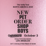 Pet Shop Boys & New Order @ Hollywood Bowl –  OCT. 3rd