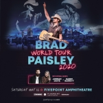 Brad Paisley Tour 2020 -MAY 16
