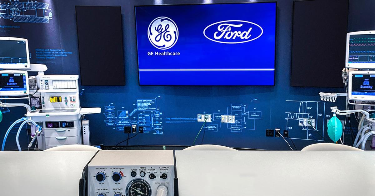 Ford to build 50,000 ventilators in 100 days