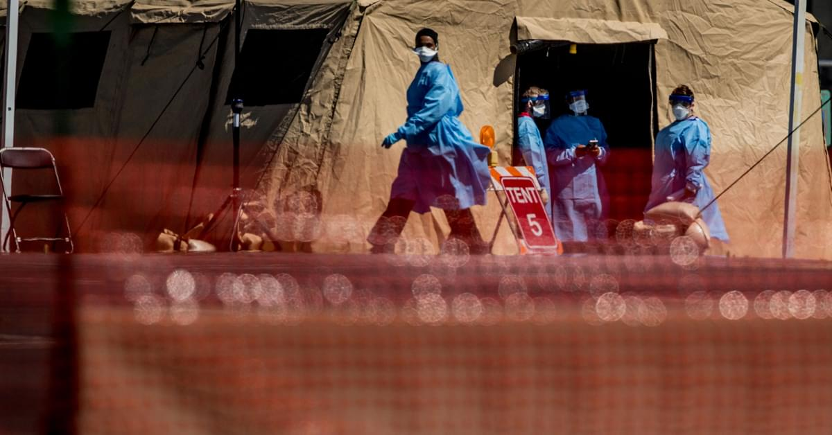 The US is starting to see 'glimmers' that social distancing could be slowing the spread of coronavirus — but there's more work to do, officials say