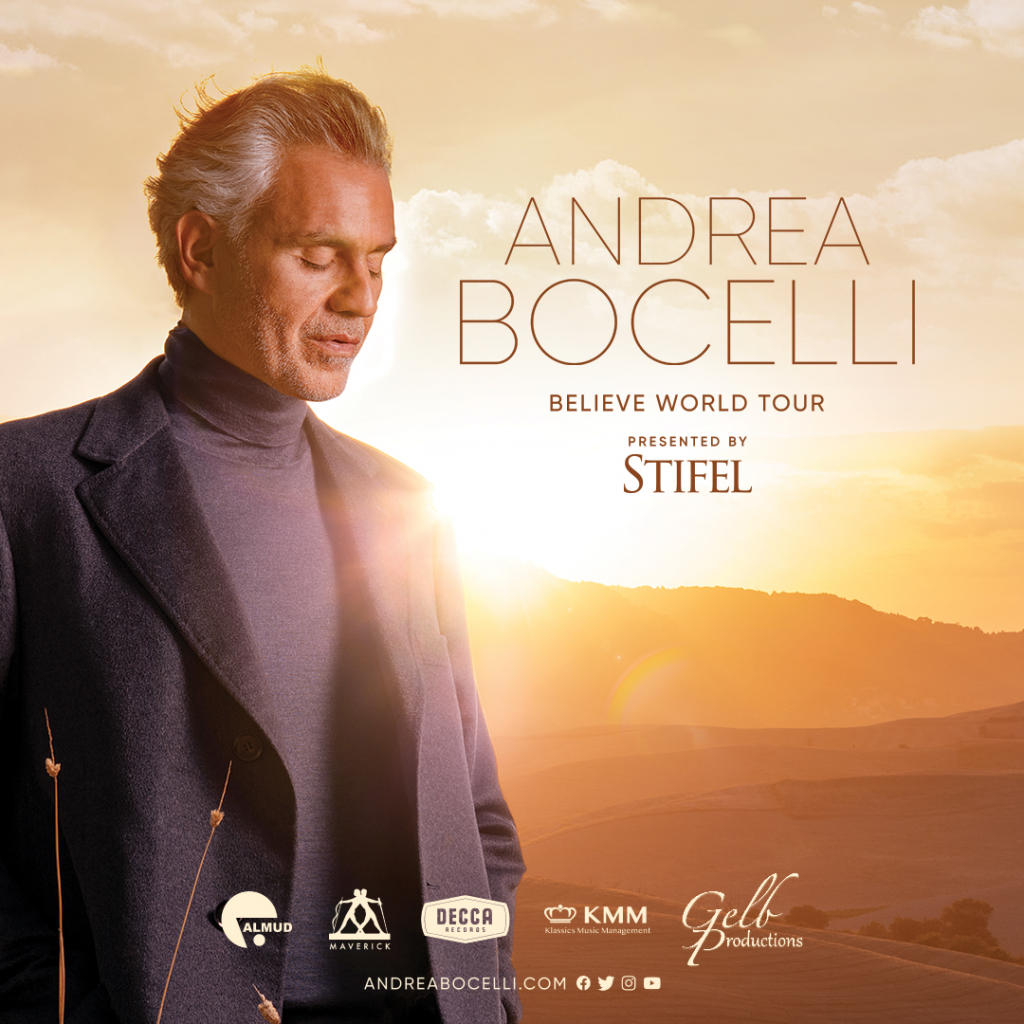 Andrea Bocelli at the Hollywood Bowl – October 24th, 2021