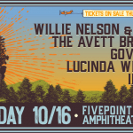 WILLIE NELSON, FAMILY & FRIENDS – OCTOBER 16, 2021