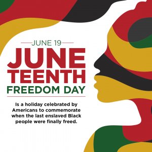 Today is Juneteenth- an important holiday and an important day. Here's why.