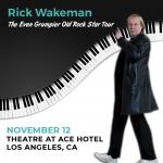 Rick Wakeman – The Even Grumpier Old Rock Star Tour – November 12th, 2021
