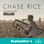Chase Rice with Breland – September 2nd, 2021
