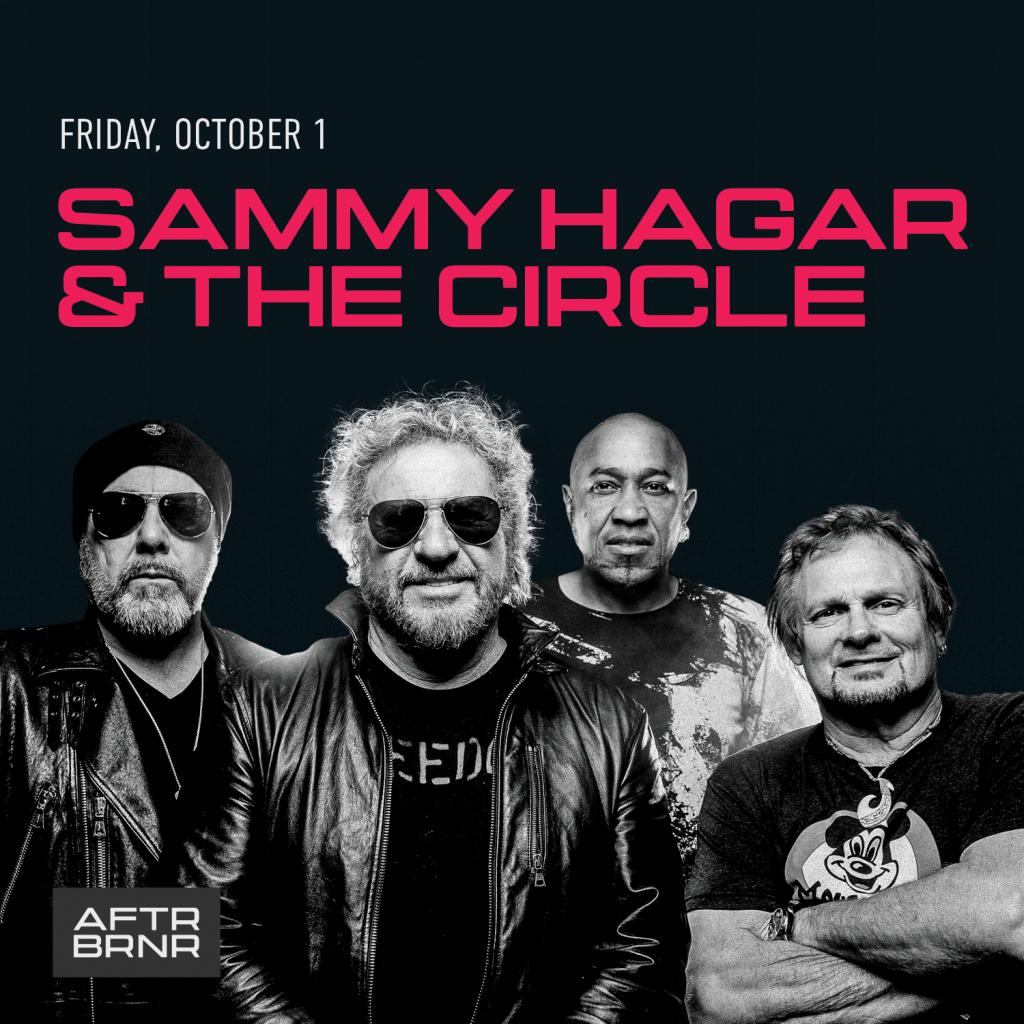 Afterburner Music Festival – Sammy Hagar & The Circle – October 1st