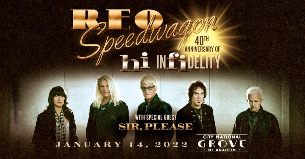 REO SPEEDWAGON – January 14, 2022