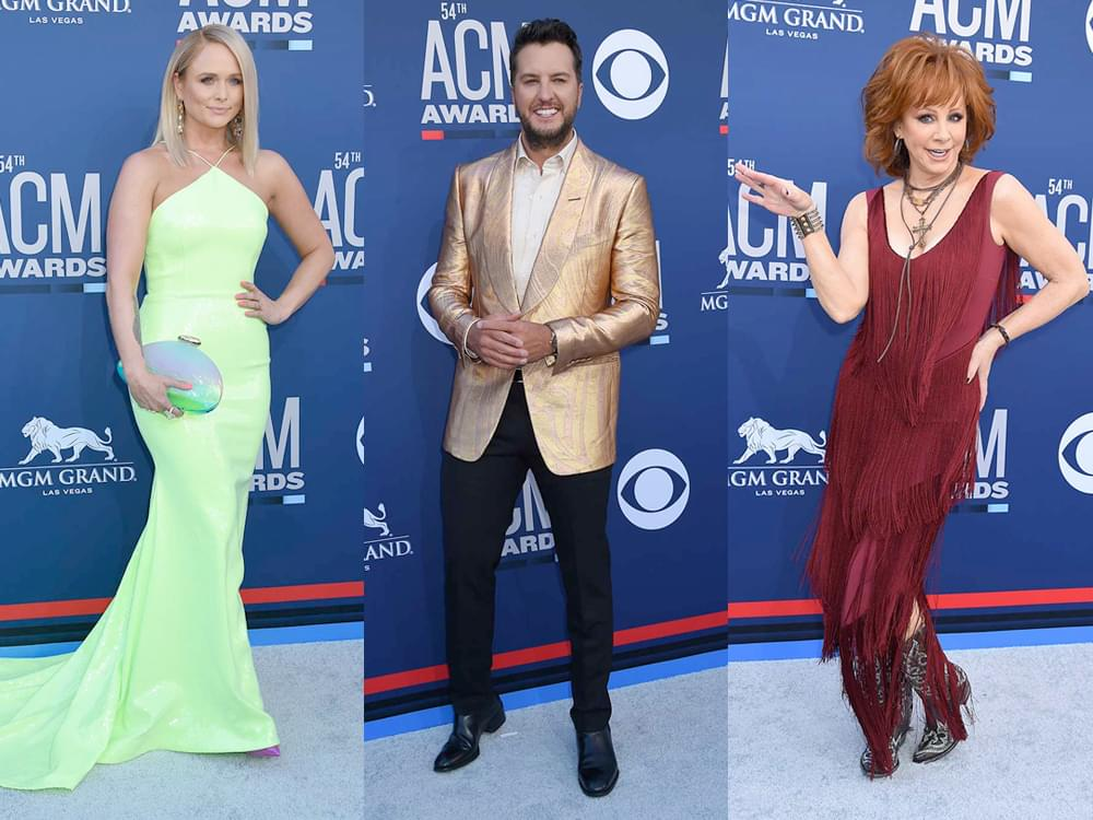 86 of the Best Red Carpet Photos From the ACM Awards, Including Reba, Miranda, Luke Bryan, Keith Urban & More