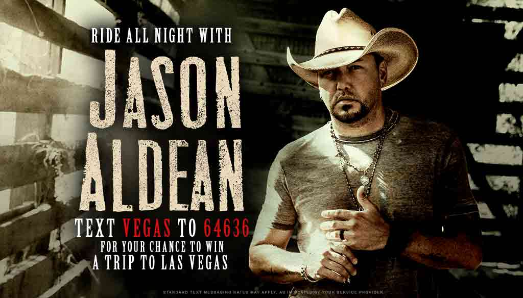 Ride All Night in Vegas with Jason Aldean
